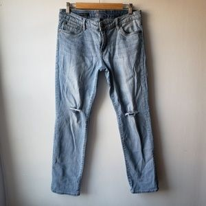 Kut from the Kloth Ripped Boyfriend Jeans 10